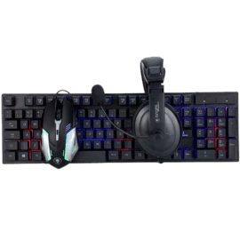 KIT GAMER BRIGHT 543 TECLADO/MOUSE/HEADSET