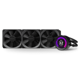 WATER COOLER NZXT KRAKEN Z73 360MM RGB DISPLAY RL-KRZ73-01